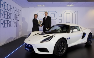 First Production SP:01 was handed over by Detroit Electric