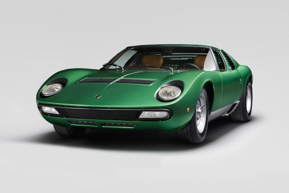 Original 1971 Miura SV was restored by Lamborghini