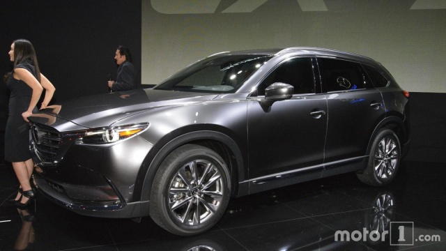 Mazda CX-9 might to Europe