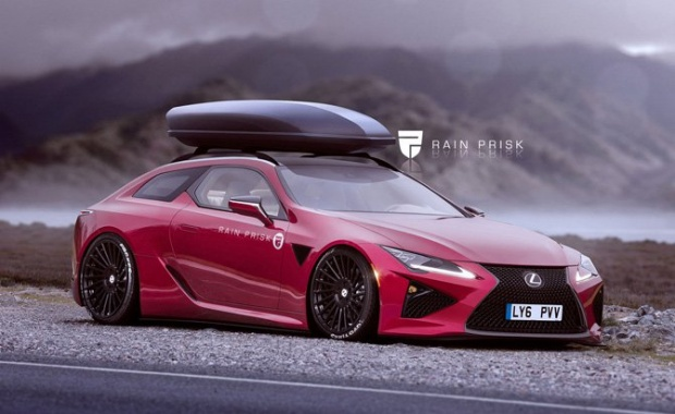 Wonderful Lexus LC Wagon was Rendered