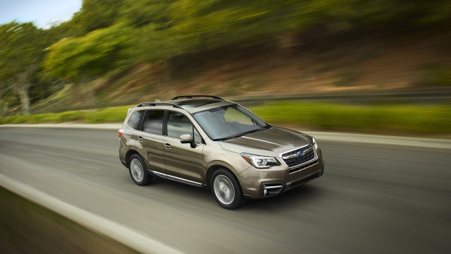 $22,595 for the 2017 Forester from Subaru