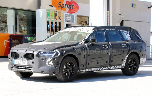 The V90 Cross Country from Volvo Spotted during Tests in Southern Europe