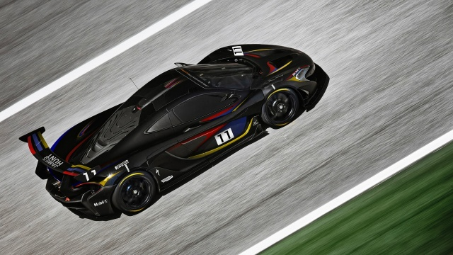 Debut of McLaren P1 GTR with James Hunt-Inspired Livery