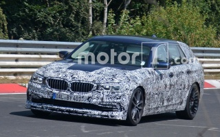 Alpina B5 is Lapping the Nurburgring Before the 5 Series' Debut