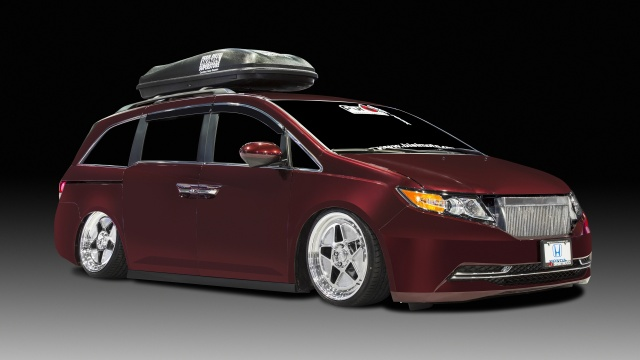 Honda Odyssey With 1,029HP Will Be Auctioned