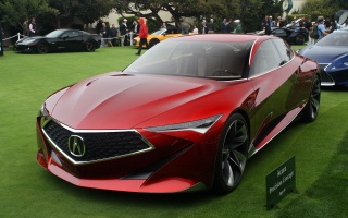 Expect Acura Precision Concept at the Pebble Beach Concept Lawn