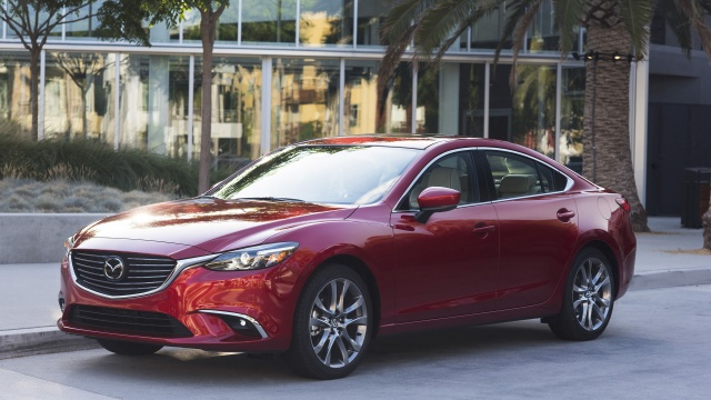 New Equipment for 2017 Mazda6 for $22,780