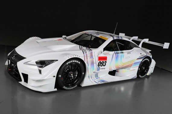 LC GT500 From Lexus Will Rival in 2017 Super GT Season