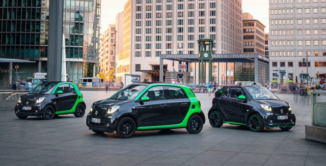 America, Meet New Smart ForTwo Electric Drive In 2017