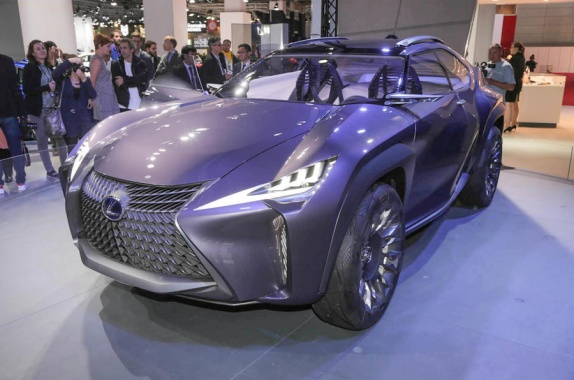 Look Of Lexus UX Concept