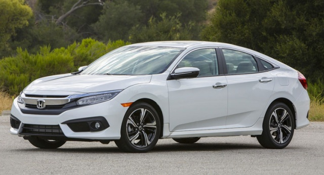 2016 Honda Civic Recalled
