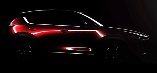 The CX-5 Crossover From Mazda Was Teased