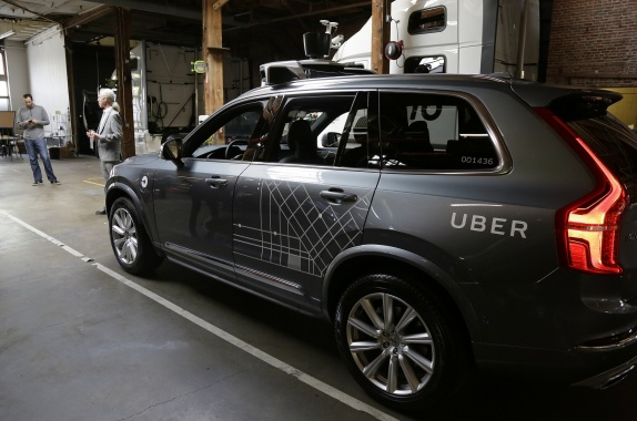 Self-Driving Ubers Face A Problem With The State Of California
