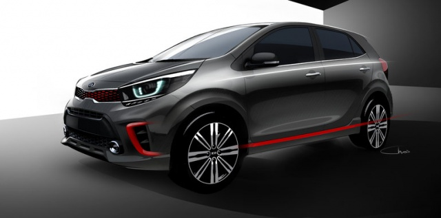 2017 Picanto From Kia Uncovered