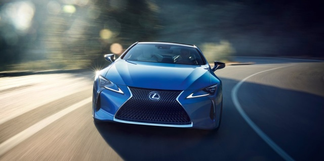 Tokyo, Meet Lexus LC F With Twin-Yurbo 4.0L V8
