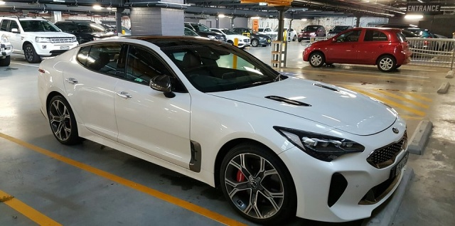Testing Of This Year's Stinger GT From Kia In Sydney