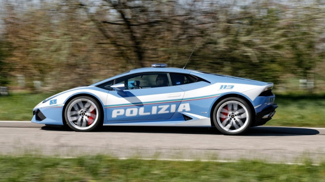 Italian Police Received 2nd Supercar From Lamborghini