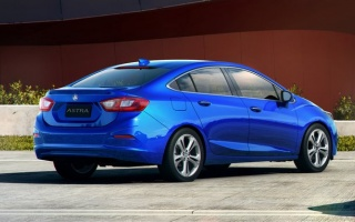 3 Model Versions For 2017 Holden Astra Sedan: LS, LT And LTZ