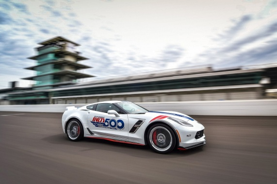Corvette From Chevrolet Reprises Role Of Indianapolis 500 Pace Vehicle