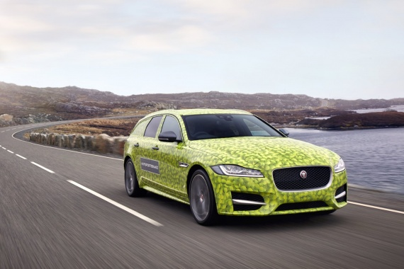 New XF Sportbrake From Jaguar Teased Before June Premier