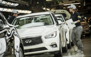 Japan Hosts Production Of 2018 Infiniti Q50