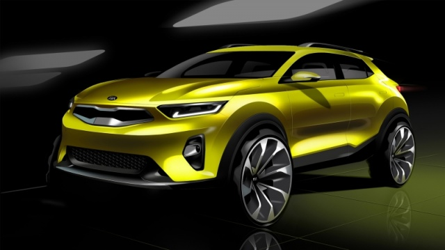 Kia Previewed New Compact Crossover