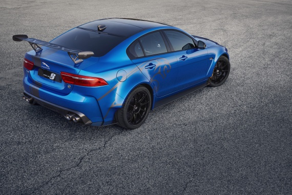 Jaguar to Show its 592 HP XE SV Project 8 in the U.S. This Month