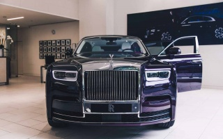 Next Year's Phantom From Rolls-Royce Is Purple