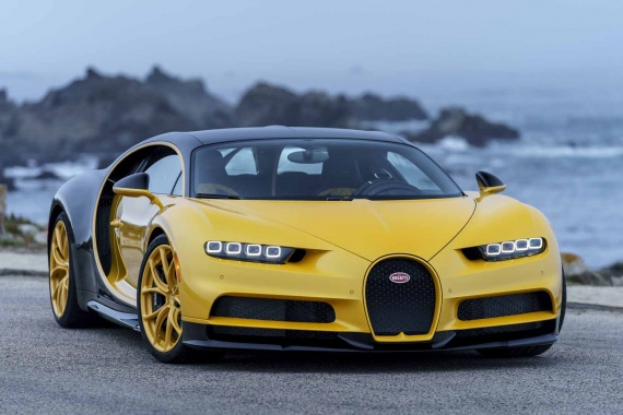 Bugatti Delivers Unique Yellow Chiron to First Customer in the USA