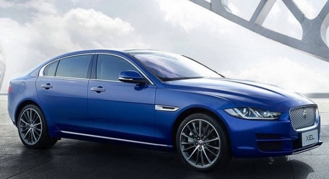 Jaguar XE received an extended version for China