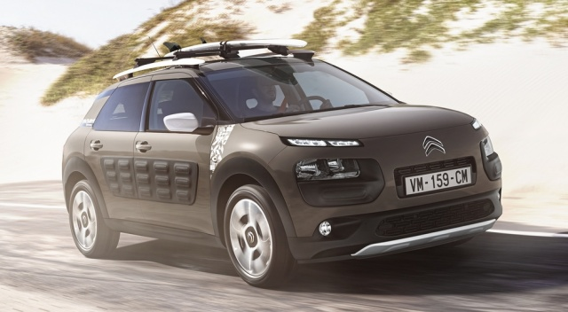 Ð¡rossover Citroen C4 Cactus will turn into a hatchback