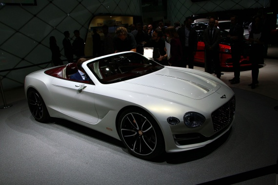 Bentley Electric car will appear in 2019