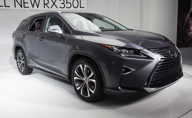 First Look At The Next Year's Lexus RX 350L And RX 450hL
