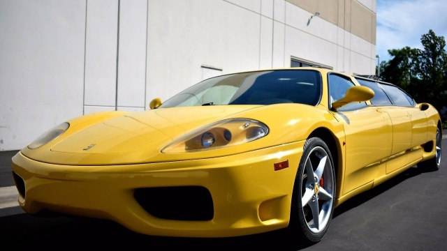 Ferrari 360 Limo Could Be Sold For $104,400 Bid On eBay