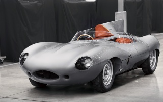 Jaguar make it again: waiting release of the racing D-Type 1956