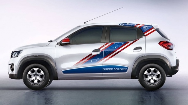 The Renault budget hatchback received special versions in honor of Captain America and Iron Man