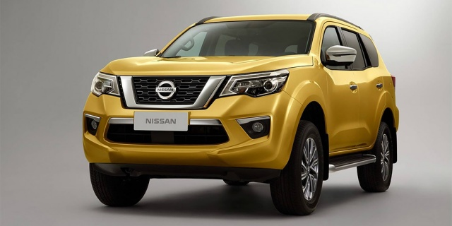 The first photos of the new Nissan Terra off-roader are published
