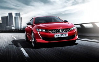 The new Peugeot 508 appeared on the official video