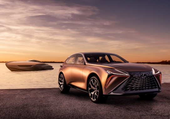 Toyota wants that brand Lexus make luxury yachts