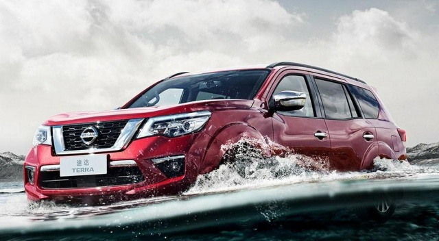 New images of SUV Nissan Terra