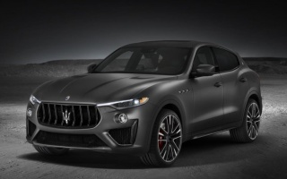 Maserati Levante Trofeo with a Ferrari engine introduced in New York