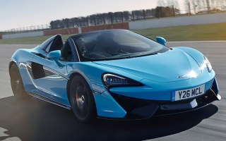 Open version of the McLaren 570S got a racing version