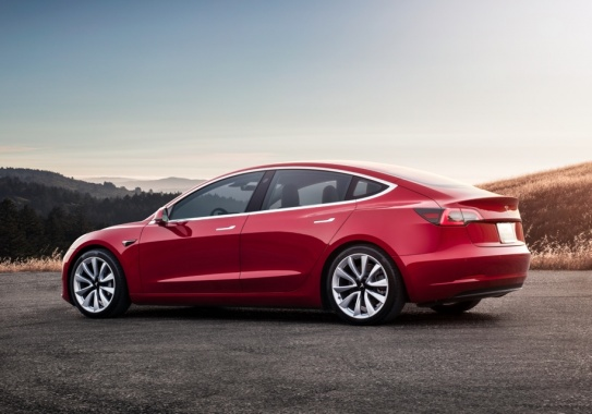 Tesla Model 3 - the most popular electric vehicle in the USA