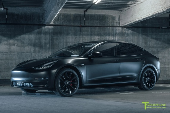 Cosmetic Modifications To T Sportsline Tesla Model 3