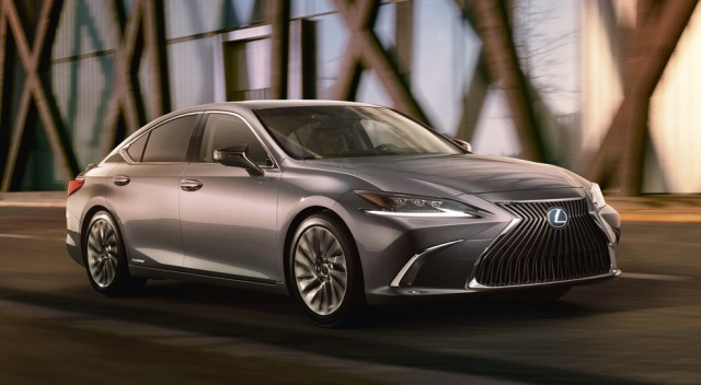 Declassified the new Lexus ES