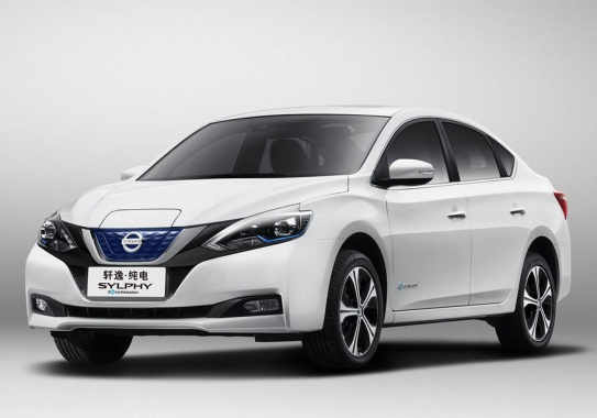 Nissan Leaf turned into electro sedan for China