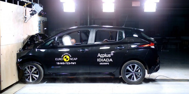 Euro NCAP has put the highest rating for new Nissan Leaf