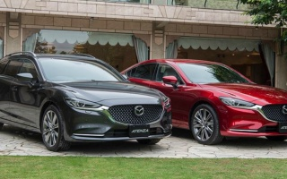 Updated Mazda6 take a new diesel engine