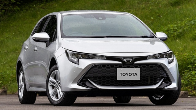 Hatch Toyota Corolla changed generation