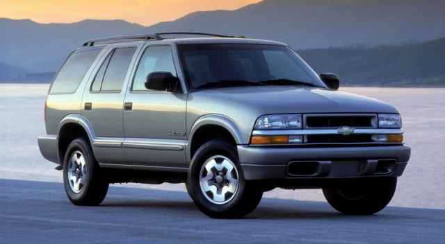 Chevrolet Blazer: look at a funny announce